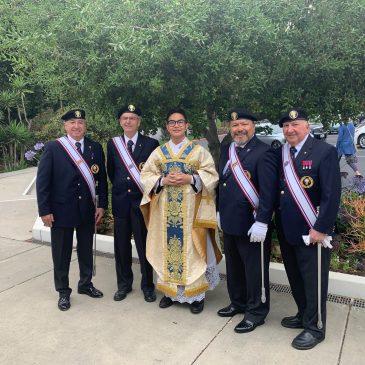 4th Degree Knights perform in new Regalia